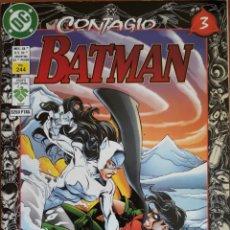 Cómics: COMIC N°244 BATMAN CONTAGIO 1998. Lote 160777132