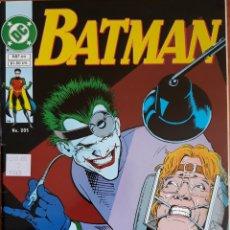 Cómics: COMIC N°205 BATMAN 1995. Lote 160778952