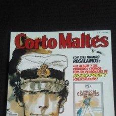 Cómics: REVISTA CORTO MALTÉS Nº 1 (NEW COMIC, 1988) HUGO PRATT. Lote 160811058