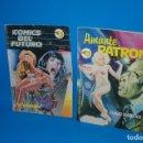 Cómics: COMICS DOS COMICS EROTICOS COMICS DEL FUTURO Nº 2 Y AMANTE PATRON Nº 7. Lote 161084090
