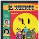 Cómics: EL WENDIGO Nº 82. CON SUPLEMENTO. 2000. NUEVO.. Lote 161181122