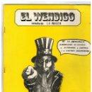 Cómics: EL WENDIGO Nº 17. 1980. NUEVO,DE ALMACÉN.. Lote 161181890