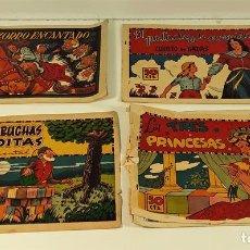 Comics : EDICIONES POLONIO. 4 EJEMPLARES. BARCELONA. AÑOS 40.. Lote 161248666