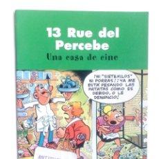Cómics: 13 RUE DEL PERCEBE-UNA CASA DE LOCOS-EDICIONES B.. Lote 161285386