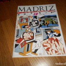 Cómics - MADRIZ Nº 28 ED. AYUNTAMIENTO MADRID MUY BUEN ESTADO - 161571474