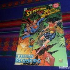 Cómics: MUY RARO. UNICEF, SUPERMAN Y LA MUJER MARAVILLA, EL ASESINO ESCONDIDO. 1998. CONTRA LAS MINAS. MBE.. Lote 161771990