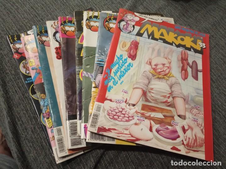 MAKOKI - LOTE DE 9 NUMEROS - EDITORIAL MAKOKI, SEGUNDA EPOCA (Tebeos y Comics - Comics otras Editoriales Actuales)