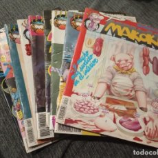 Cómics: MAKOKI - LOTE DE 9 NUMEROS - EDITORIAL MAKOKI, SEGUNDA EPOCA. Lote 161857902