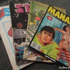 Fumetti: REVISTA COMIC STAR - LOTE DE 5 NÚMEROS + MANARA Nº 16. Lote 161858274