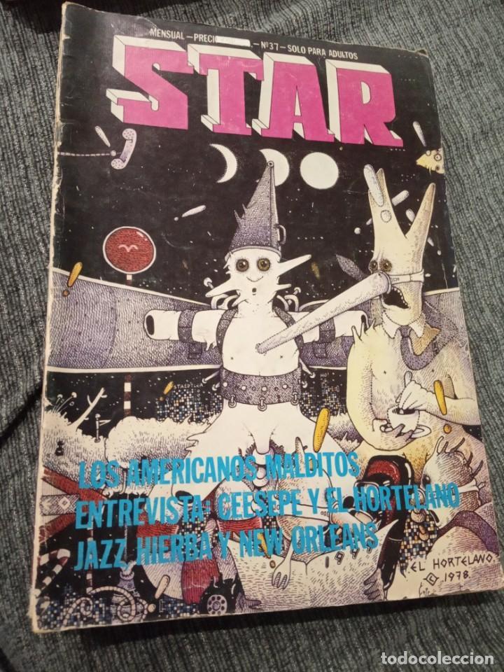 Cómics: Revista Comic Star - Lote de 5 números + Manara nº 16 - Foto 2 - 161858274