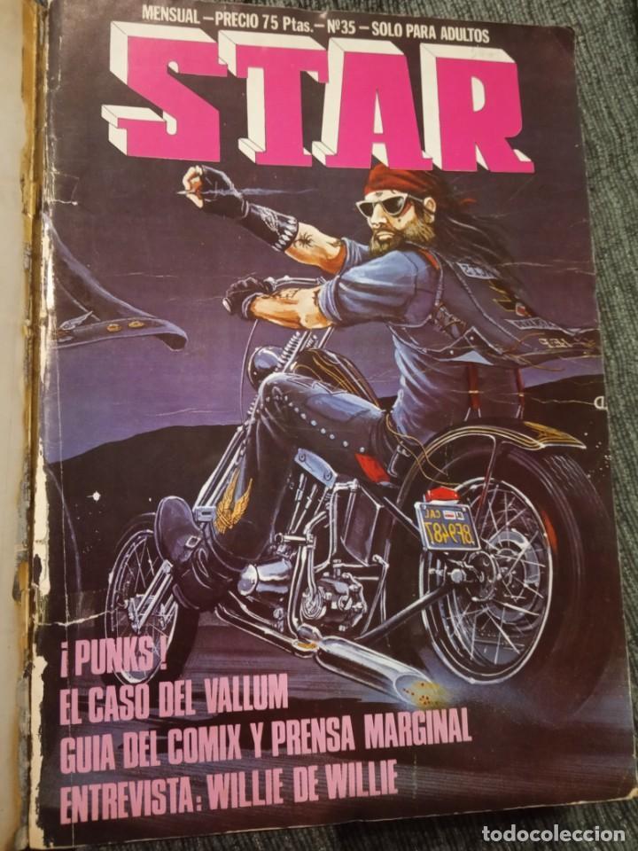 Cómics: Revista Comic Star - Lote de 5 números + Manara nº 16 - Foto 4 - 161858274