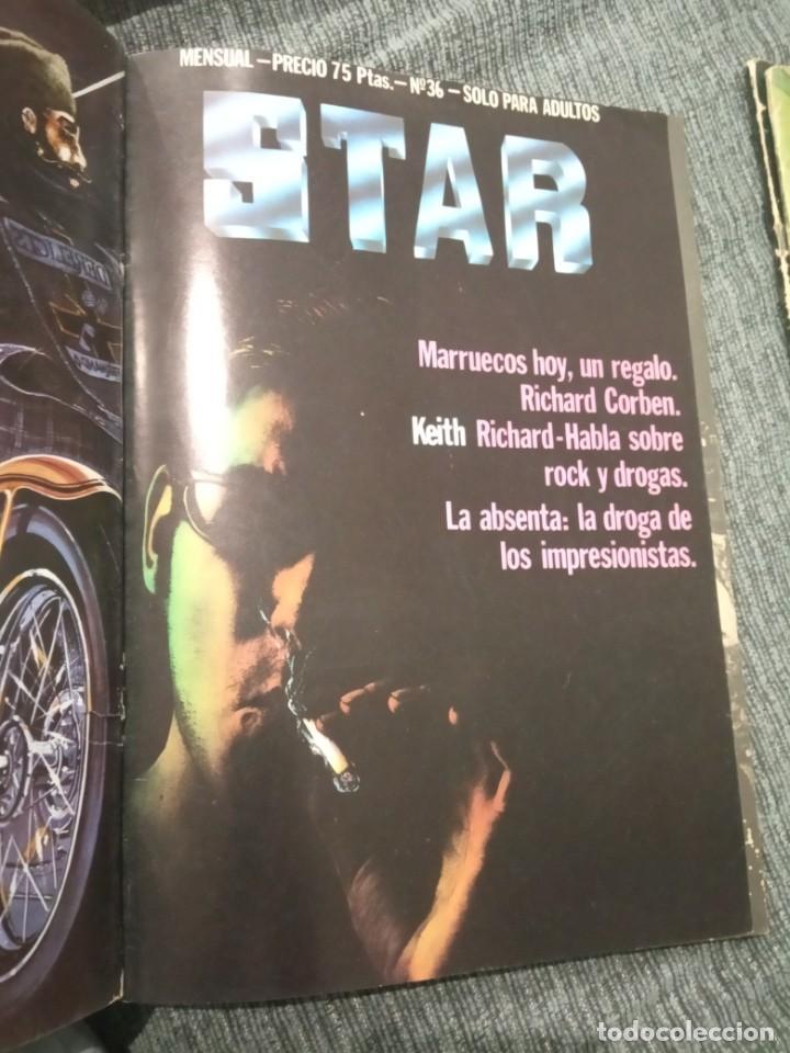 Cómics: Revista Comic Star - Lote de 5 números + Manara nº 16 - Foto 5 - 161858274