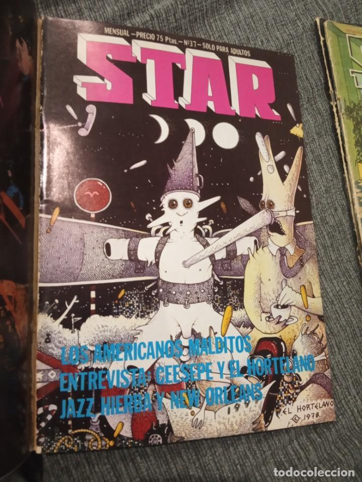 Cómics: Revista Comic Star - Lote de 5 números + Manara nº 16 - Foto 6 - 161858274