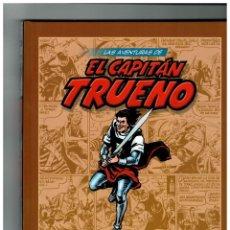 Cómics: LAS AVENTURAS DE EL CAPITÁN TRUENO -LOTE DE 31 TOMOS- DEL 1 AL 31.PLANETA,2009.EXCELENTES.. Lote 161933926