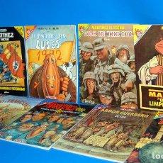 Cómics: LOTE DE 9 TOMOS COMICS UNDERGROUND SERIE PENDONES DEL HUMOR-MARTINEZ EL FACHA. Lote 161964714