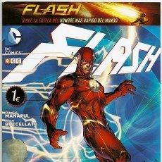 Cómics: FLASH #0: EL ORIGEN DE FLASH (BRIAN BUCCELLATO, FRANCIS MANAPUL) – ECC, 06/2015. Lote 50925676