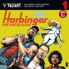 Cómics: HARBINGER RENEGADE CASI COMPLETA 8 DE 9 NÚMEROS - MEDUSA COMICS. Lote 162108630