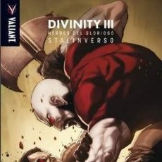Cómics: DIVINITY III: HÉROES DEL GLORIOSO STALINVERSO - MEDUSA COMICS. Lote 162109766