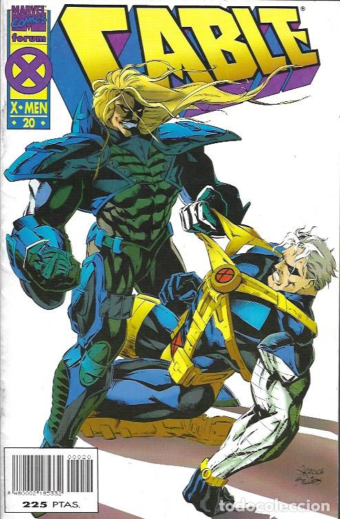 Cómics: Cable. Forum 1994. Nº 20 - Foto 1 - 162184881