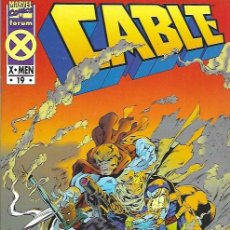 Cómics: CABLE. FORUM 1994. Nº 19. Lote 162184885