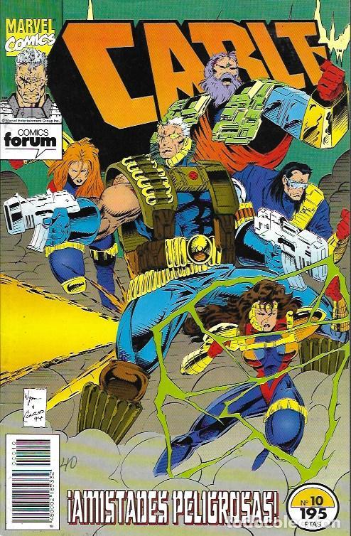 CABLE. FORUM 1994. Nº 10 (Tebeos y Comics - Comics otras Editoriales Actuales)
