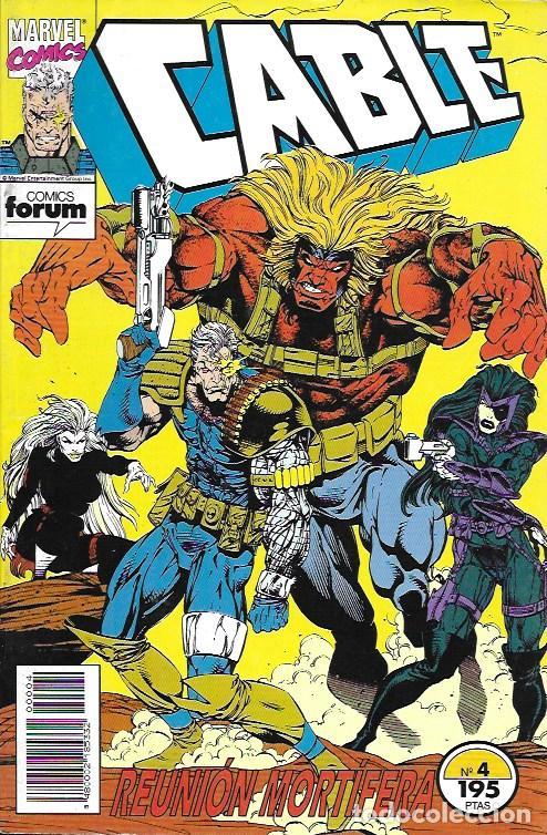 CABLE. FORUM 1994. Nº 4 (Tebeos y Comics - Comics otras Editoriales Actuales)