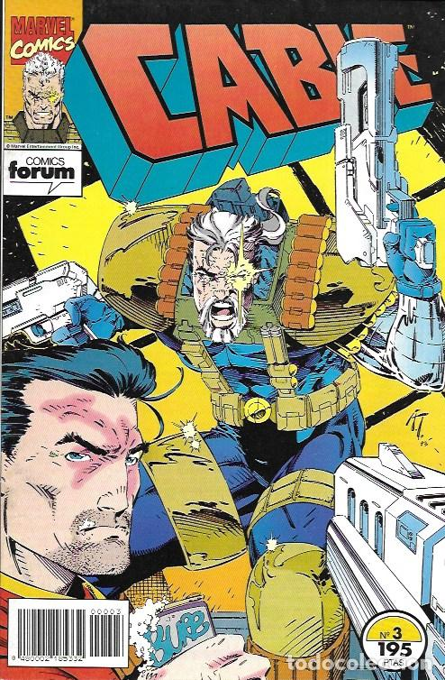 CABLE. FORUM 1994. Nº 3 (Tebeos y Comics - Comics otras Editoriales Actuales)