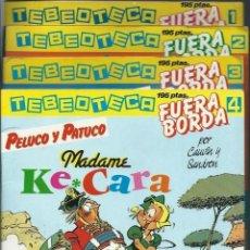 Cómics: COL TEBEOTECA Nº 1 A 6 COMPLETA - SARPE 1984 - AMBROSIUS, J. GOODBYE, KROSTONES, PELUCO, KALUM, BOBO. Lote 162300470