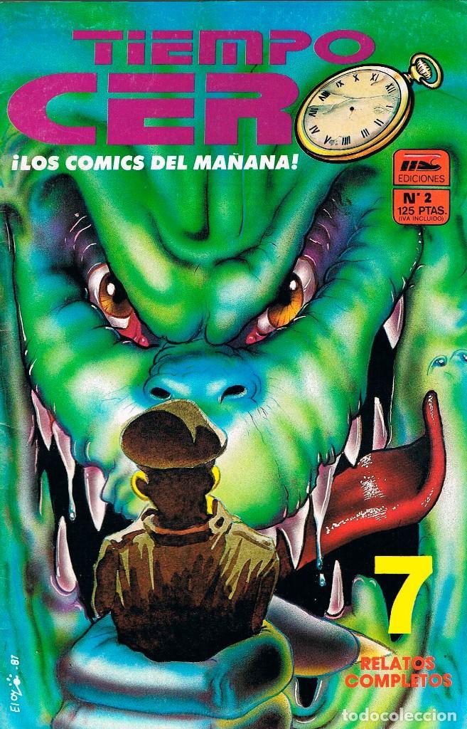 TIEMPO CERO Nº 2 (Tebeos y Comics - Comics otras Editoriales Actuales)
