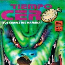 Cómics: TIEMPO CERO Nº 2. Lote 162471350