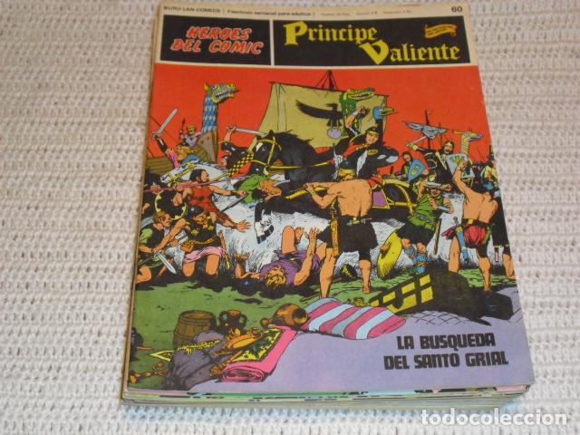 PRINCIPE VALIENTE - 18 FASCICULOS - (Tebeos y Comics - Buru-Lan - Principe Valiente)