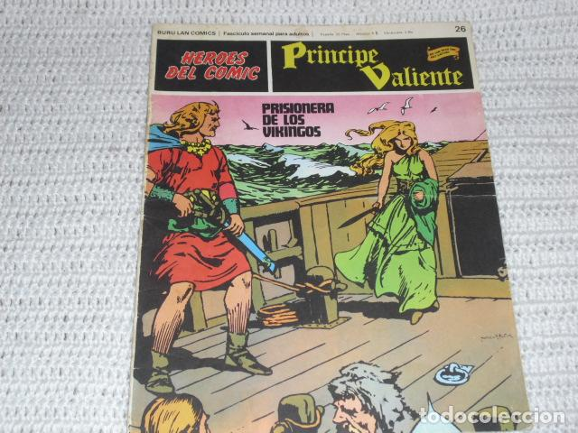 Cómics: PRINCIPE VALIENTE - 18 FASCICULOS - - Foto 6 - 162488658