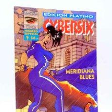 Comics: CYBERSIX EDICIÓN PLATINO. MERIDIANA BLUES (CARLOS TRILLO / CARLOS MEGLIA) MERIDIANA, 1995. OFRT. Lote 230061315