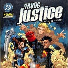 Cómics: YOUNG JUSTICE, LAS RAREZAS NO INVITADAS. RAREZAS NO INVITADAS. Lote 162719776