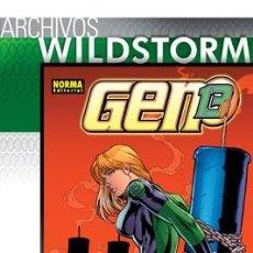 Cómics: ARCHIVOS WILDSTORM: GEN13 7.. Lote 162733937
