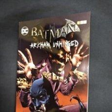 Cómics: BATMAN - ARKHAM UNHINGED - VOLUMEN 3 - ECC. Lote 162747334