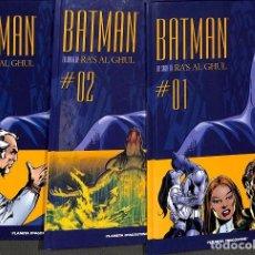 Cómics: BATMAN RA´S GHUL DC TOMOS 1, 2, 3.. Lote 162741350