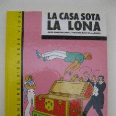 Cómics: LES AVENTURES D'EN PERE VIDAL - LA CASA SOTA LA LONA - J. CARBÓ - MADORELL - EN CATALÁN - AÑO 1984.. Lote 162912522