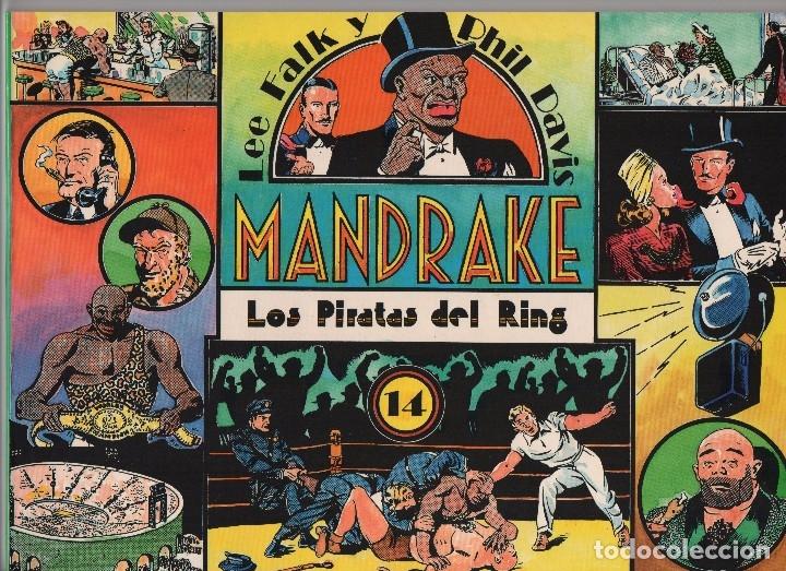 Cómics: MANDRAKE por Lee Falk y Phil Davis 14 números publicados por Joaquin Esteve a partir de 1.980 - Foto 13 - 159259890