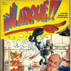 Cómics - ¡¡ AL ATAQUE !! Nº 11 - 1993 REVISTA SEMANAL MÁS CHACHIPILONGUI - 163565498
