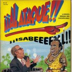 Cómics - ¡¡ AL ATAQUE !! Nº 12 - 1993 REVISTA SEMANAL MÁS CHACHIPILONGUI - 163565570