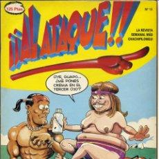 Cómics - ¡¡ AL ATAQUE !! Nº 15 - 1993 REVISTA SEMANAL MÁS CHACHIPILONGUI - 163565738