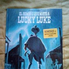 Cómics: EL HOMBRE QUE MATÓ A LUCKY LUKE. Lote 163583778