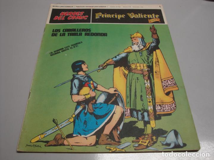 HEROES DEL COMIC, PRINCIPE VALIENTE Nº 1, EDITORIAL BURULAN (Tebeos y Comics - Buru-Lan - Principe Valiente)