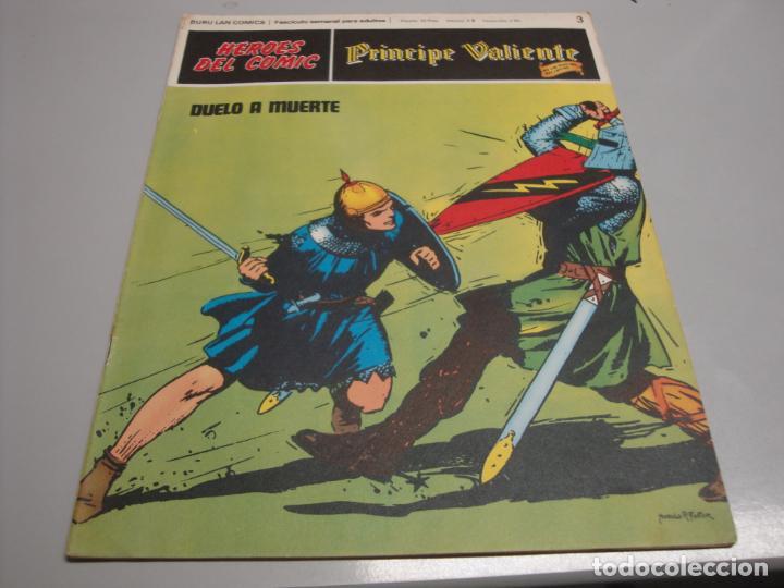 HEROES DEL COMIC, PRINCIPE VALIENTE Nº 3, EDITORIAL BURULANR (Tebeos y Comics - Buru-Lan - Principe Valiente)