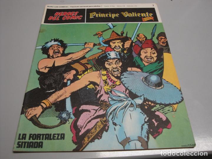 HEROES DEL COMIC, PRINCIPE VALIENTE Nº 7, EDITORIAL BURULAN (Tebeos y Comics - Buru-Lan - Principe Valiente)