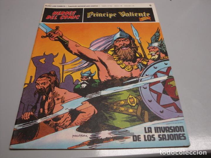 HEROES DEL COMIC, PRINCIPE VALIENTE Nº 6, EDITORIAL BURULAN (Tebeos y Comics - Buru-Lan - Principe Valiente)