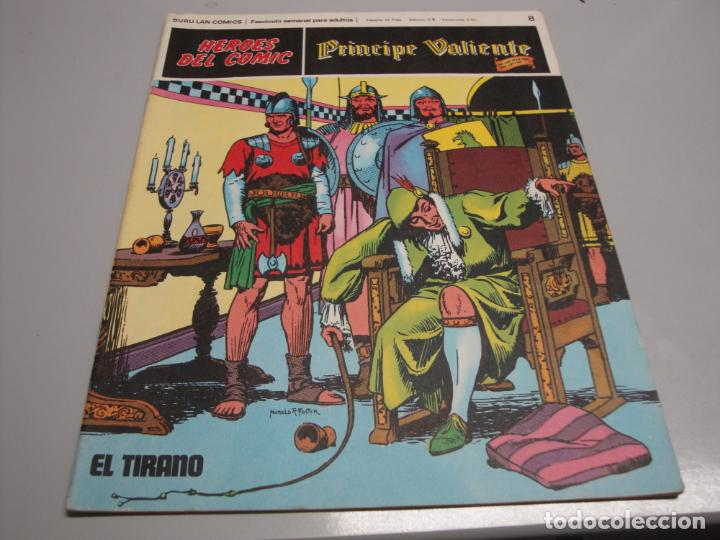 HEROES DEL COMIC, PRINCIPE VALIENTE Nº 8, EDITORIAL BURULAN (Tebeos y Comics - Buru-Lan - Principe Valiente)