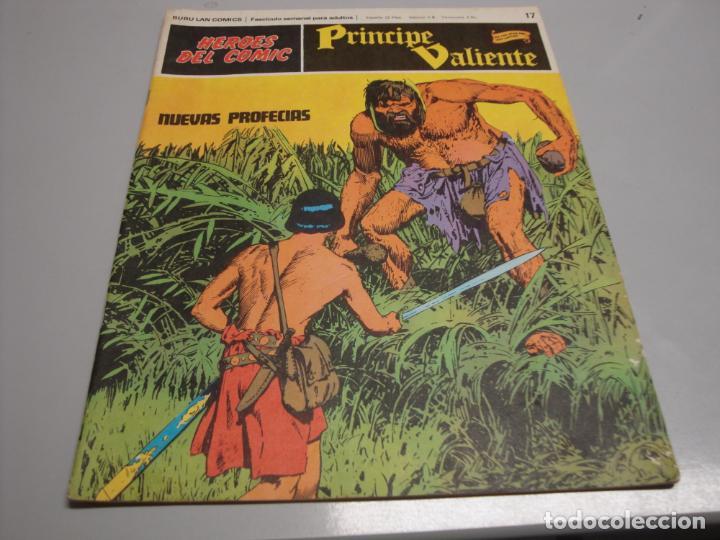 HEROES DEL COMIC, PRINCIPE VALIENTE Nº 17, EDITORIAL BURULAN (Tebeos y Comics - Buru-Lan - Principe Valiente)