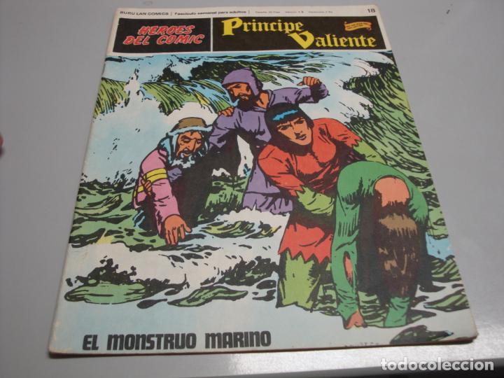 HEROES DEL COMIC, PRINCIPE VALIENTE Nº 18, EDITORIAL BURULAN (Tebeos y Comics - Buru-Lan - Principe Valiente)